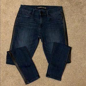 Express Jeans Midrise Leggings